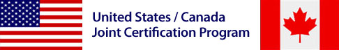 US / Canada Joint Certification Program